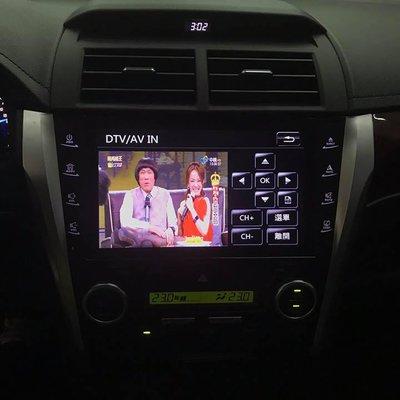 TOYOTA CAMRY ALTIS 車美仕 HONDA CRV3 CRV4 原廠怡利電子影音主機升級HD數位電視盒