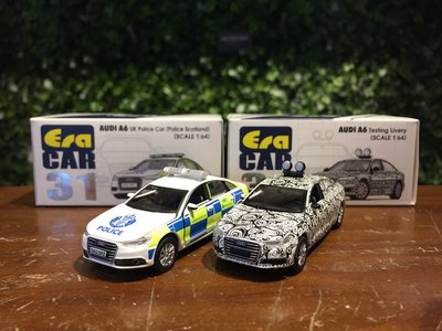 1/64 ERA Audi A6 UK Police Car Testing Livery【MGM】