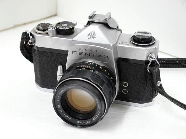 PENTAX ASAHI SL 底片SLR單眼相機 含 Super-Takumar 1:1.8 55mm鏡頭