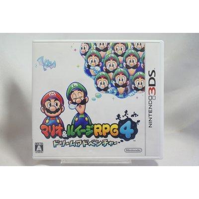 [耀西]二手 純日版 任天堂 3DS N3DS 瑪利歐與路易吉 RPG 4 夢境冒險 含稅附發票