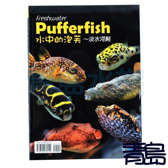 AB。。。青島水族。。。A1009035工具書----Pufferfish 水中的泡芙~淡水河魨 水族書籍 淡水魚 河豚