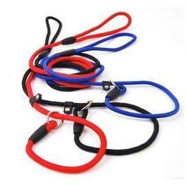 【寵物牽引繩-尼龍P字鏈-0.6*130cm-2條/組】尼龍狗鏈狗繩 寵物P鏈P繩蛇鏈 貓咪牽引帶 無需項圈-79011