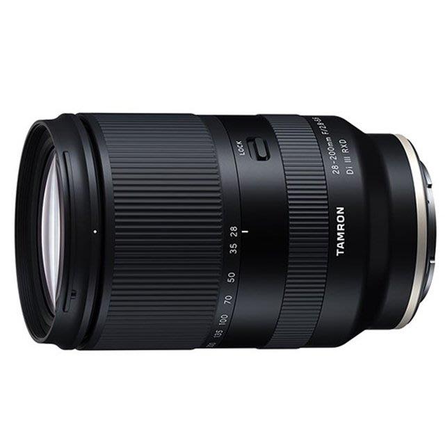 晶豪野 TAMRON 28-200mm F/2.8-5.6 DiIII A071 Sony E-mount 公司貨 預購