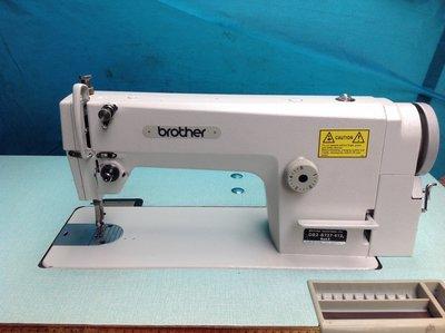 工業用縫紉機、日本制造兄弟牌737 型適合,成衣布類厚溥-,防水布,送LED工作燈