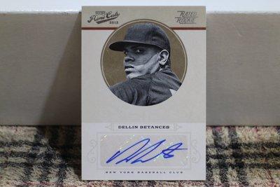 Dellin Betances 2012 Prime Cuts RC 洋基隊王牌後援 四屆全明星 限量149張新人簽名卡