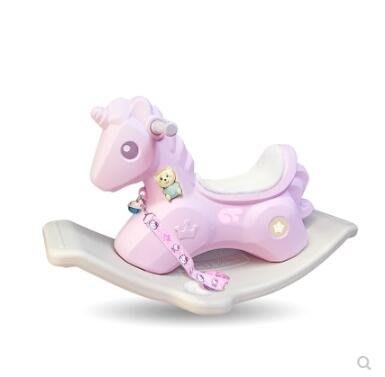 兒童搖馬玩具寶寶木馬嬰兒搖搖馬大號加厚嬰兒1-2-3-4-5周歲禮物ATF