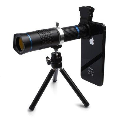 26X 4K Mobile Tele Lens for Mobile MY-2018 iPhone適用26倍手機單筒望遠鏡兩用長砲