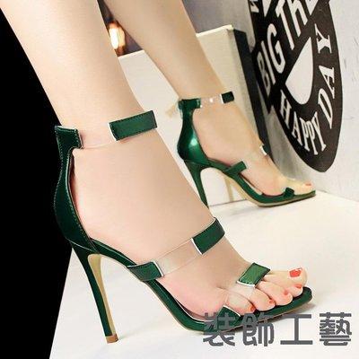 5262-1時尚顯瘦高跟鞋女鞋細跟高跟...