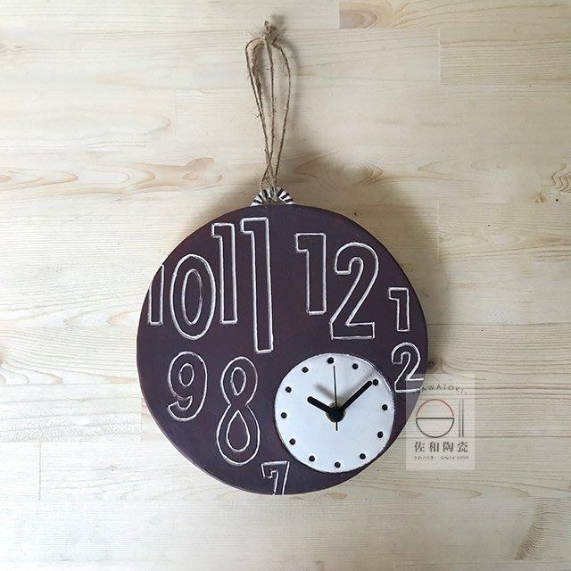 +佐和陶瓷餐具批發+【XL060416-5CIT-14數字時鐘-日本製】時鐘 家用 餐廳 精緻 擺飾