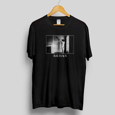 Bauhaus in the flat field 包浩斯 短袖樂團T恤 post punk goth 龐克 歌德