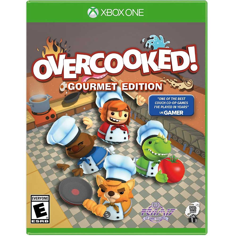 (現貨全新) XBOX ONE 煮過頭 美食家版 英文美版 OVERCOOKED GOURMET EDITION