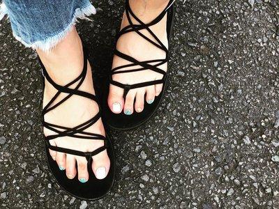 HJ - ✨26/25現貨 Teva 2019新款 羅馬繩鞋 羅馬鞋 女孩必備 涼鞋 拖鞋💗風靡日本 歐美代購