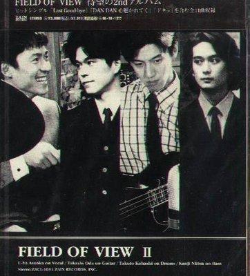 K - FIELD OF VIEW - FIELD OF VIEW II - 日版 CD - NEW