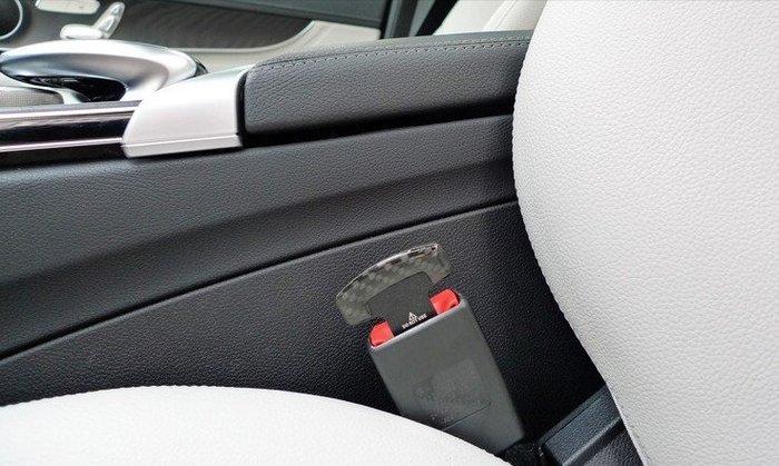 ☆光速改裝精品☆汽車安全帶扣 插扣 插銷 正碳纖維~1組直購350元