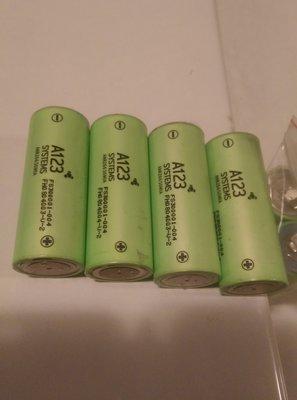美國 A123 26650 鋰鐵電池 點焊新品 特價 100元