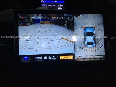 [SSY 翔陽 SSY] HONDA 2012~2016 CRV 4代 360度 環景