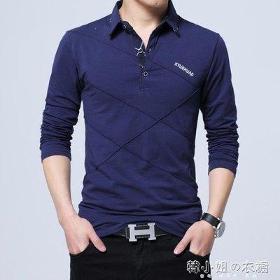 ZIHOPE 冬季加絨長袖T恤男翻領青年加肥加大碼打底衫加厚保暖寬鬆上衣服ZI812