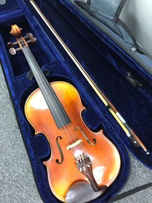 """Herman 15.5吋 中提琴 連盒及弓 15.5"""" inches Viola with Case and Bow 原價 $3200現售1800 元"""