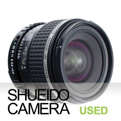 集英堂写真機【3個月保固】美品 PENTAX 645 SMC FA 45mm F2.8 定焦鏡頭 645D 14882
