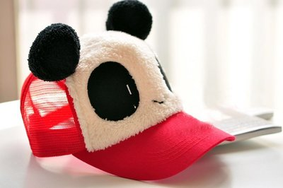 『現貨』熊貓PANDA   棒球帽  鴨舌帽 遮陽帽【XB0006】- 崔可小姐