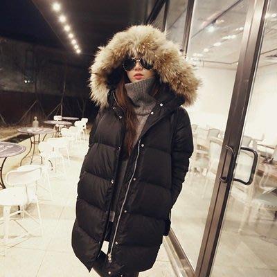 羽絨 外套 連帽 夾克-韓版時尚保暖白鴨絨百搭女外套2色73pl5[獨家進口][米蘭精品]