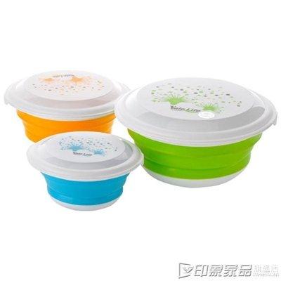 三件套折疊碗外出便攜碗旅新款行餐具戶外泡面碗折疊水新杯旅游用可伸縮MI79648PO-06