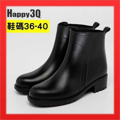 雨鞋雨靴短筒雨鞋低跟平跟防水靴防水鞋矽膠鞋工程靴雨天百搭-紅/黑/粉/灰36-40【AAA2916】