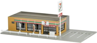 (現貨)TOMIX N-gauge 便利店 Seven-Eleven 4262