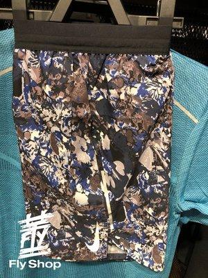 [飛董] Nike Flex Stride 運動 慢跑 迷彩短褲 男裝 AQ6977-438 藍