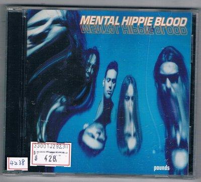[鑫隆音樂]西洋CD-MENTAL HIPPIE BLOOD / POUNDS {3984141002}/全新
