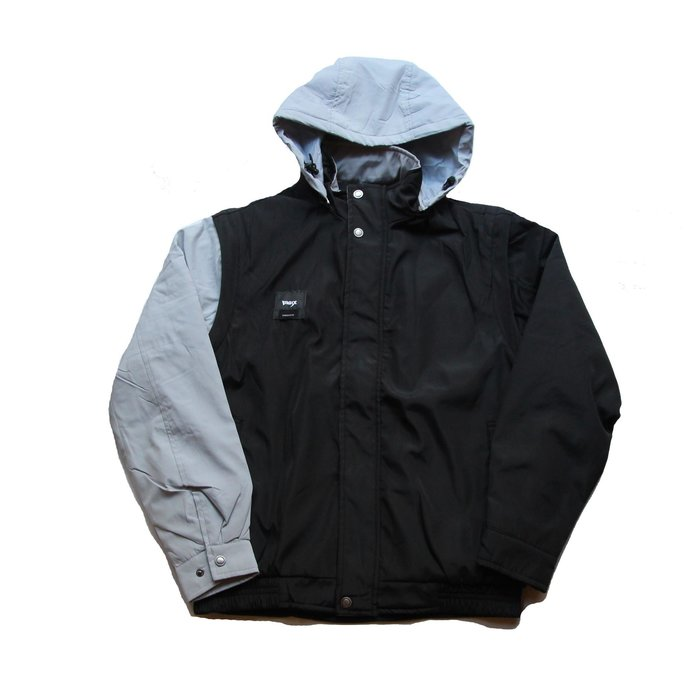 PUNX 19AW SPLICE ALL-ROUND FUNCTIONAL JACKET / BLACK 四段式鋪棉外套