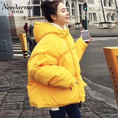 冬季外套女2019新款韓版寬鬆短款加厚棉衣學生面包服ins羽絨棉服