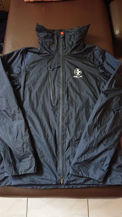 Ralph Lauren RLX深藍色風衣/外套(22)