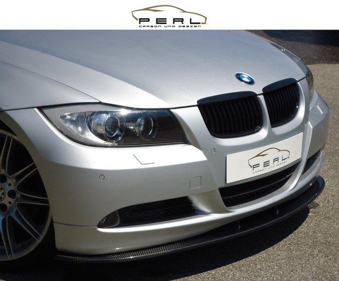 【樂駒】Perl Carbon Design BMW 3er E90 E91 碳纖維 前下擾流 前下巴 輕量化