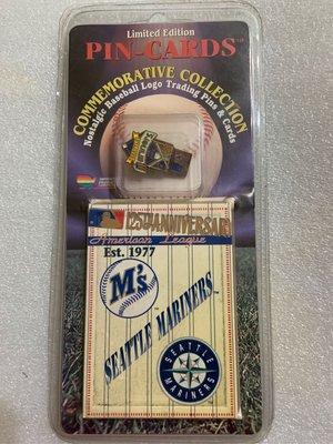 [美]MLB 美國大聯盟 1995 隊徽 SEATTLE MARINERS 西雅圖 出清