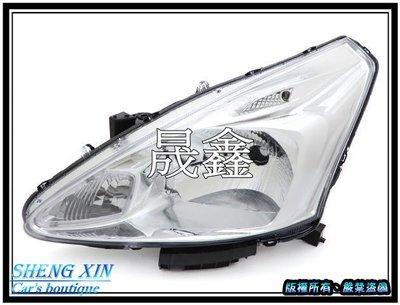 《晟鑫》全新 BIG TIIDA 日產 晶鑽 12-16年 大燈 單邊價格 也有 對應原廠HID 渦輪版 大燈
