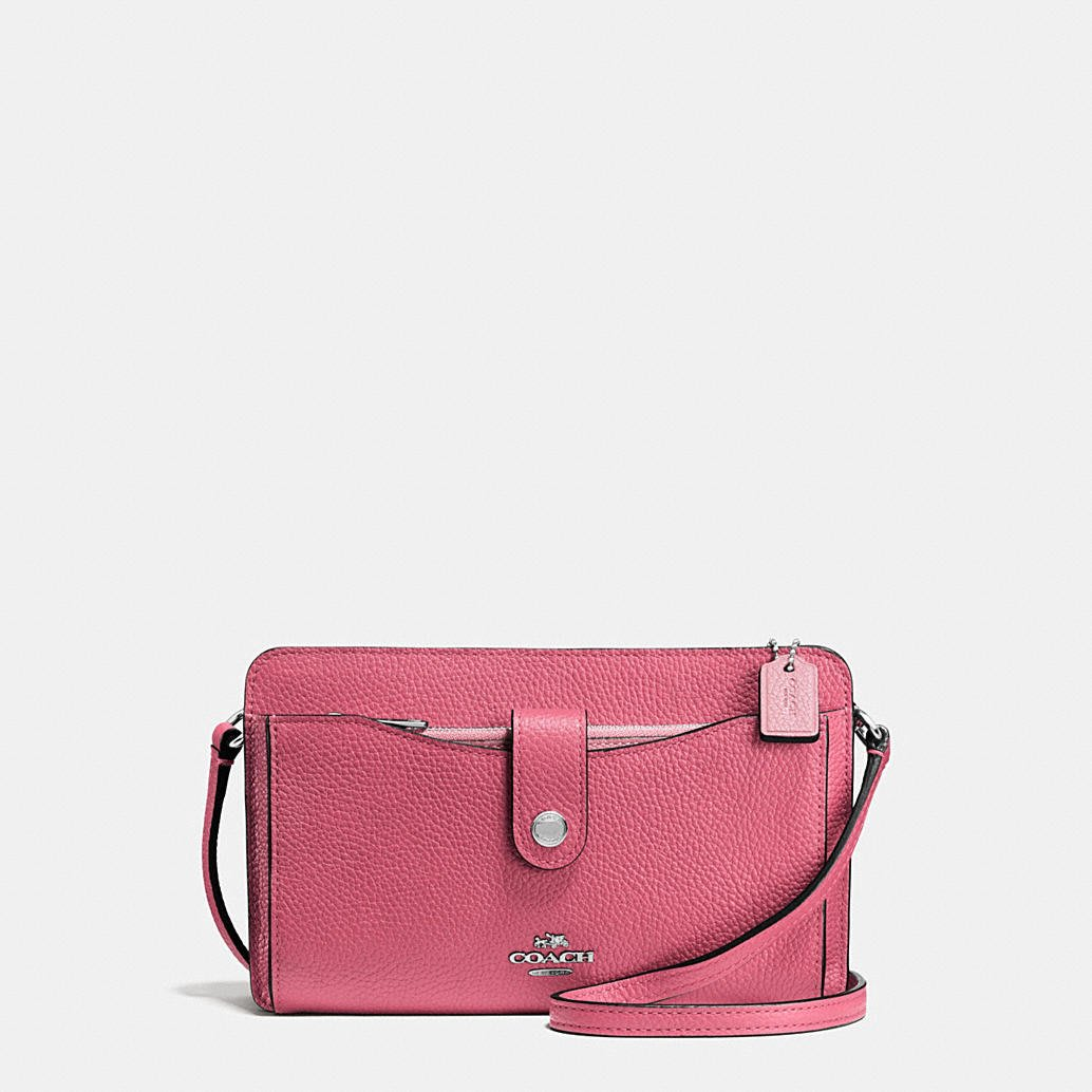 Coco小舖 COACH 64798 Messenger With Pop-up Pouch In Colorblock