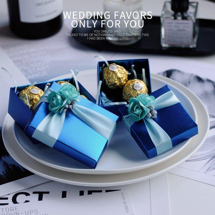 衣萊時尚-熱賣款 喜糖盒子紙盒歐式創意婚慶用品 結婚禮品盒子韓版成品L-5