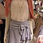 大折扣PINK-nail in jp日本連線~銀座高質感專櫃品牌 柔美系藍紫蝴蝶結裙
