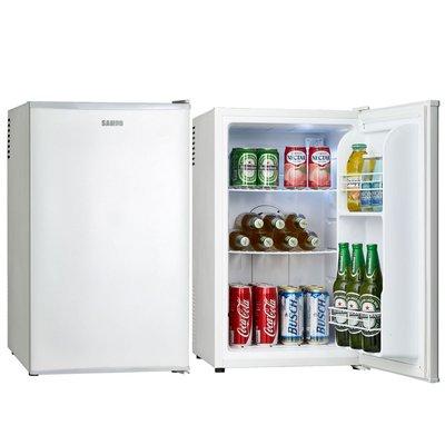 ☎『下殺↘自取更優惠』SAMPO【KR-UA70C】聲寶70公升電子冷藏小冰箱/三段溫控/ /無壓縮機/噪音少很安靜
