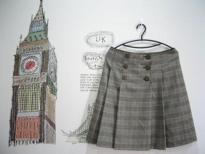 浪漫滿屋 專櫃商品Single noble(S/NO18039)女裝/毛料裙