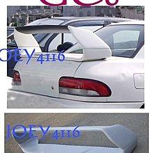SUBARU  IMPREZA GC8 STI 雙層尾翼-光滑底漆面非毛料 (附LED)
