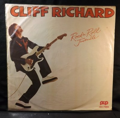 黑膠唱片 CLIFF RICHARD-ROCK'N' ROLL JUVENILE~10JB28~