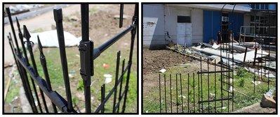 玫瑰柵欄 六角管柵欄 玫瑰拱門配件 可單獨使用