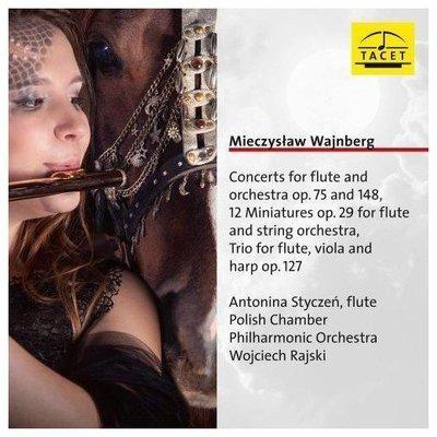 溫伯格:音樂會長笛和樂團作品集 Works for flute / 波蘭室內愛樂樂團 --- TACET232