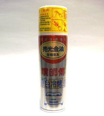 《台北慶徽》 噴師傅(亮光金油)(二罐一組)汽車冷烤漆 原色冷烤漆 冷烤漆 噴漆(含發票)