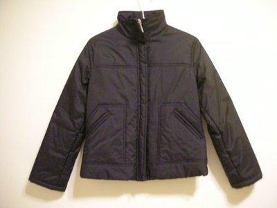 全新專櫃正品   VIPER FASHION 香港製女款正黑色厚舖棉溫暖合身窄版長袖小立領外套
