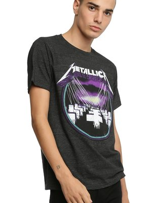 [METALLICA-MASTER OF PUPPETS T-SHIRT] 灰色 Size:S