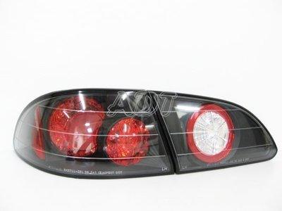 ~~ADT.車燈.車材~~豐田 GOA COROLLA 98~01 二紅一白紅心黑底尾燈一組2100