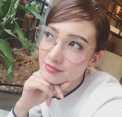 ◇ ◇ 強尼好物 ◇ ◇ Dior eyewear 明星款 /多角金框光學眼鏡 ☆預購☆另有多色